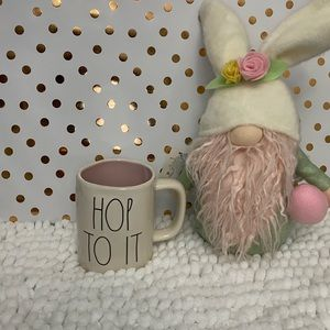 "🎉🎉 2/30 New Rae Dunn by Magenta ""HOP TO IT"" Mug."